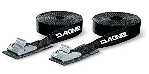 Dakine Tie Down Straps 12ft - 2-Pack Black, One Size