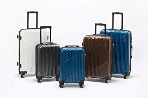 [エース]スーツケースクレスタ機内持ち込み可エキスパンド機能付39L(拡張時)48cm3.2kgブラック