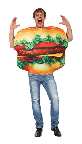 Bristol Novelty AC247 Hamburger Kostüm, Mehrfarbig, Einheitsgröße