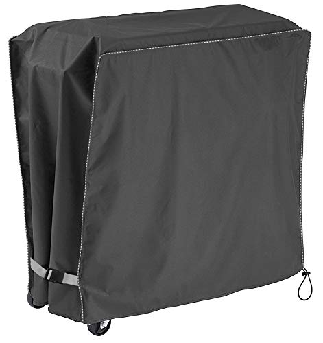 """Patio Ice Chest Cover,Universal Cover for Patio Pool Cooler Cart,Cooler Cart Cover Gray (34""""x19""""x31"""")"""
