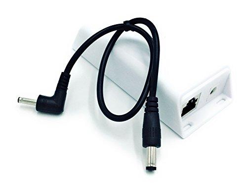 PoE+ Splitter/Converter for Non-PoE Devices | 5v, 12v, 15v or 19v Output with Various Compatibility Options (5 Volt 20 Watt - 1.35 DC)