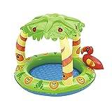 Aufblasbare Pools Stehendes Schwimmbad Kindergartenschwimmbad Verdicktes Innenbad Für Kinder Planschbecken (Color : Green, Size : 91 * 99 * 71cm)
