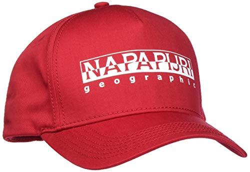 Napapijri Herren FRAMING Baskenmütze, Rot (True Red R70), One Size (Herstellergröße: D)