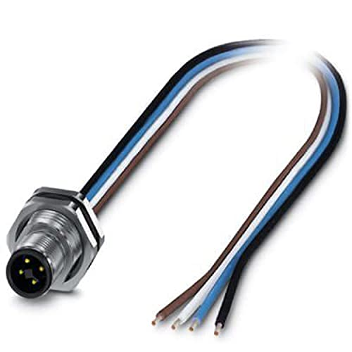 Phoenix - Conector enchufable sacc-dsi-m12mst-4p-m16xl/0,5