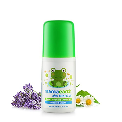 Mamaearth After Bite Roll On with Chamomile Oil for Kids and Babies, Made in The Himalayas-All Natural with Organic Ingredients