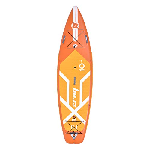 "Zray Unisex's Fury Sup Table, Orange, 10'4"""
