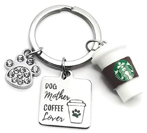 Coffee Cover Lover Keychain