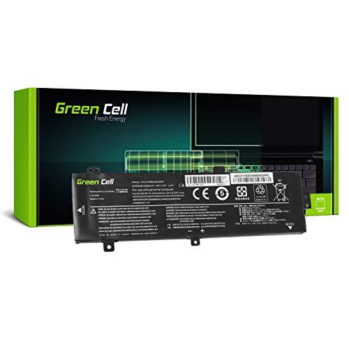 Green Cell® Standard Serie L15C2PB3 L15L2PB4 L15M2PB3 L15S2TB0 Batería para Lenovo Ideapad 310-15IAP 310-15IKB 310-15ISK 510-15IKB 510-15ISK Ordenador (4 Celdas 3500mAh 7.6V Negro)