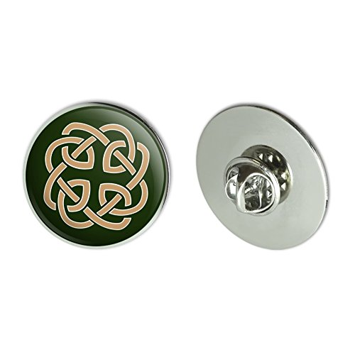 GRAPHICS & MORE Celtic Knot Love Eternity Metal 1.1' Tie Tack Hat Lapel Pin Pinback