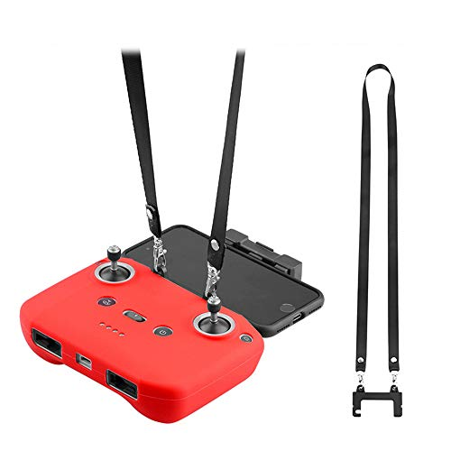 Hensych Telecomando Doppio Gancio Supporto con Cinghia per Mavic Air 2/Air 2S/Mavic Mini 2, Accessori per droni con Fibbia, per appenderlo, Tracolla