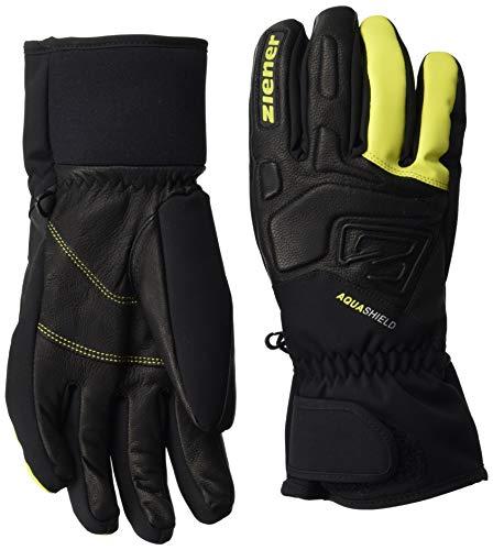 Ziener Gloves Glyxus Guantes Esquí, Hombre, Light Green, 8,5
