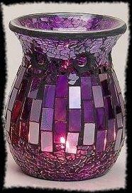 Davartis - Duftlampe Mosaik lila