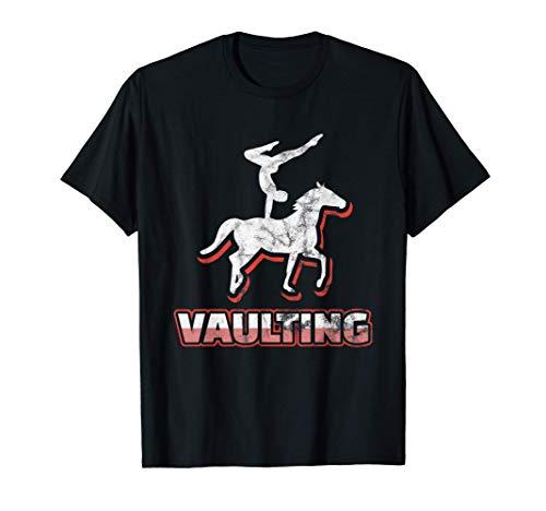 Voltigierer, Voltigieren   Stylisches Reitsport Geschenk T-Shirt