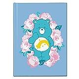 Care Bears Wish Bear Pink Flowers Hardback Journal