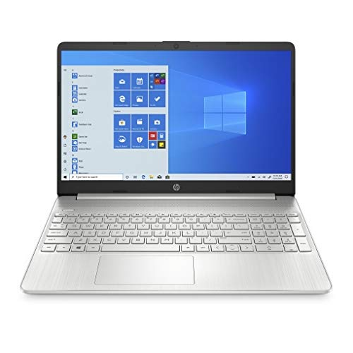 HP 15s-EQns - Ordenador portátil de 15.6' HD (AMD Athlon 3050U , 4GB RAM, 256GB SSD, AMD Radeon Graphics, Windows 10) Blanco - Teclado QWERTY Español