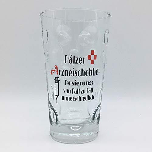 Pälzer Arzneischobbe Dubbeglas 0,5 L