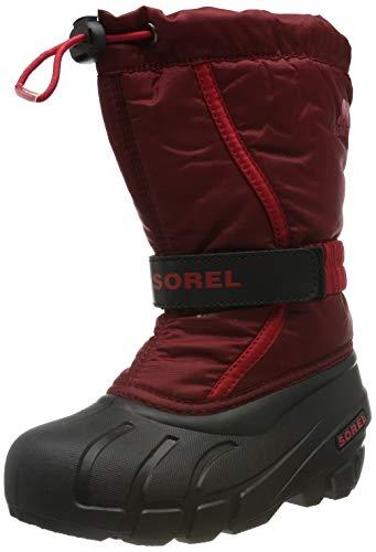 Sorel Unisex-Kinder Childrens Flurry Schneestiefel, Rot (Red Jasper/Mountain Red), 30 EU