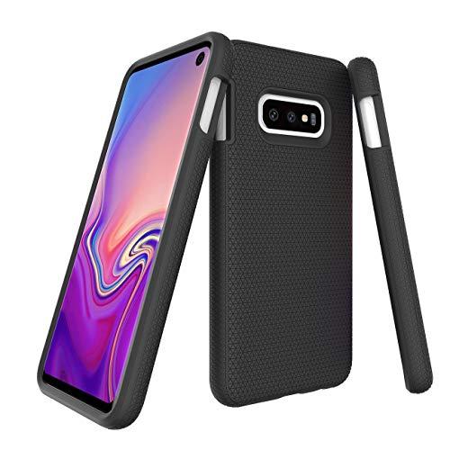 CaseExpert Samsung Galaxy S10E Funda, Heavy Duty híbrida Cáscara de Cubierta Protectora de Doble Capa Funda Caso para Samsung Galaxy S10E