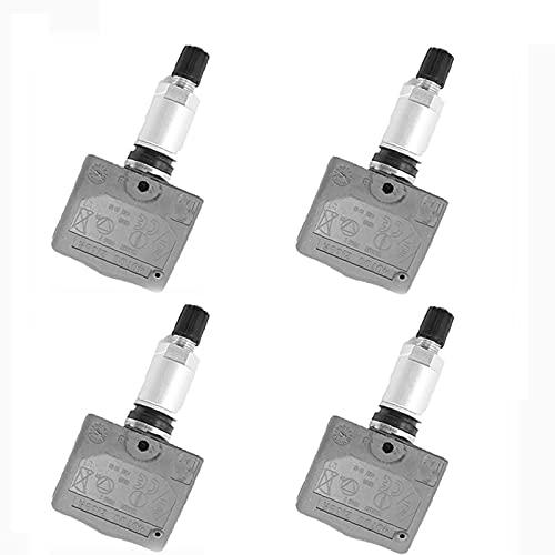 DYBANP Sensor de presión de neumáticos de Coche, para Renault Lagoon 2 / Megan/Reno/Mascota/Vel satis 2002-2013, 4 Uds Sensor de Monitor de presión de neumáticos de Coche