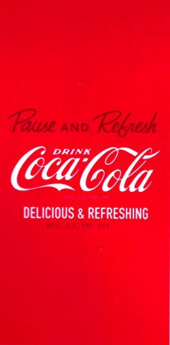 Grand Toalla Coca Cola 75 X 150cm & # ; Delicious & Refrescante, & # ; Toalla de Playa de Terciopelo & # ; Coca Cola Beach Towel Toalla