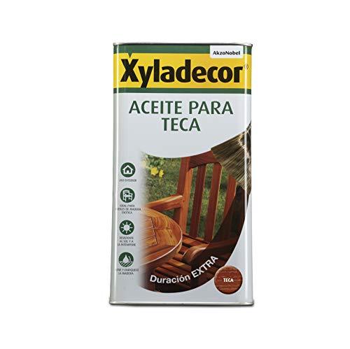 Xyladecor Aceite para Teca color Teca 5L
