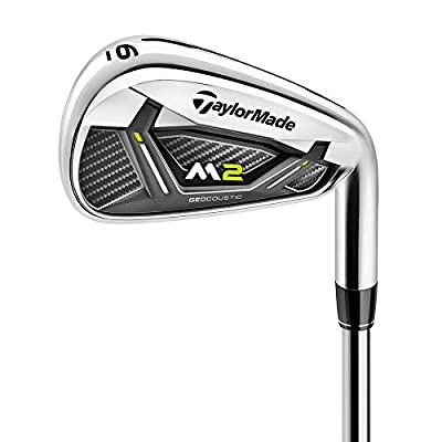 TaylorMade Golf M2 4-PW Iron Set Right Hand Graphite Regular Flex