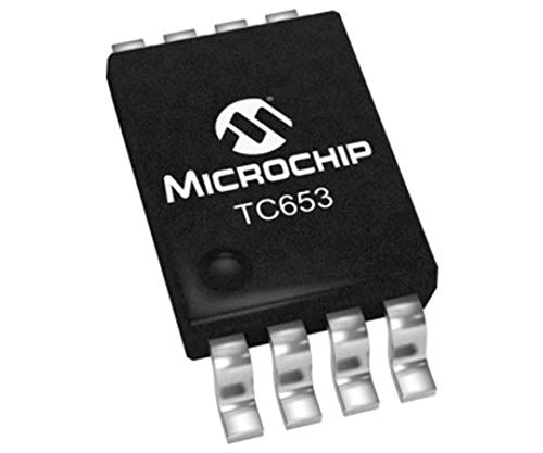 MICROCHIP Motor Driver IC TC653CGVUA, 15Hz, MSOP, 8-Pin, 5,5 V x 100 Stück