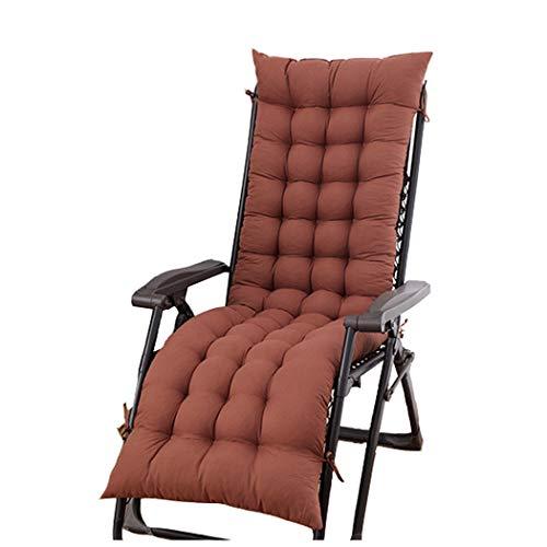 Pad Seat Coussin balancelle - 48X155 cm - Couverture de Siège pour Les chaises Longues, chaises de Jardin, chaises Longues, Sieges - Extérieur/Intérieur Relaxer Chaise Coussin étanche