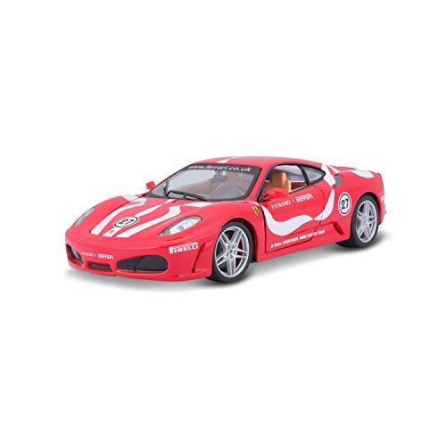 Bburago Maqueta de Coche Ferrari F430 Fiorano 18-26009, Escala 1:24, Color Rojo
