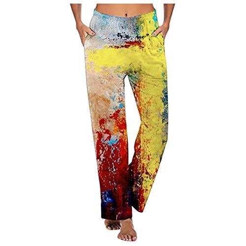 Pamilk Los Pantalones del Hippie del Harem de Las Mujeres, Moda Atractiva de Las señoras Imprimieron los Pantalones cómodos Ocasionales de la Primavera