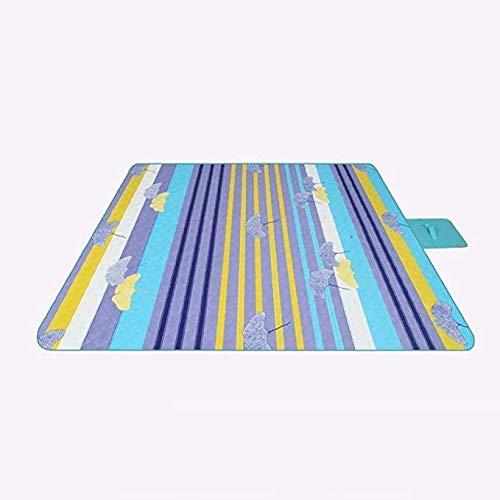 YFFSS Couverture Picnic, Couverture de Pique-Nique Couverture Sable Preuve Filature Coton Résistant À l'eau Sauvegarde Voyage Tapis De Pique-Nique for Plein Air Plage Camping avec Voyager