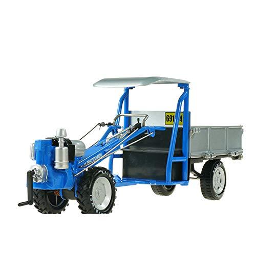FHDD 1:16 Aleación Coche Modelo Simulación Agricultura Caminar Tractor Juguete Regalos para Niños,Azul