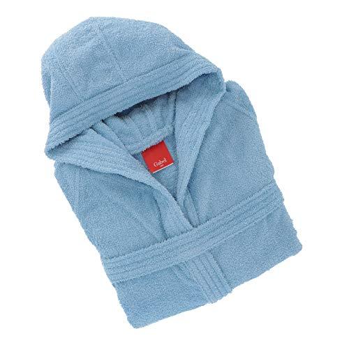 Gabel 09300 21 - Albornoz para Adulto, 100% algodón, Cielo, Talla L