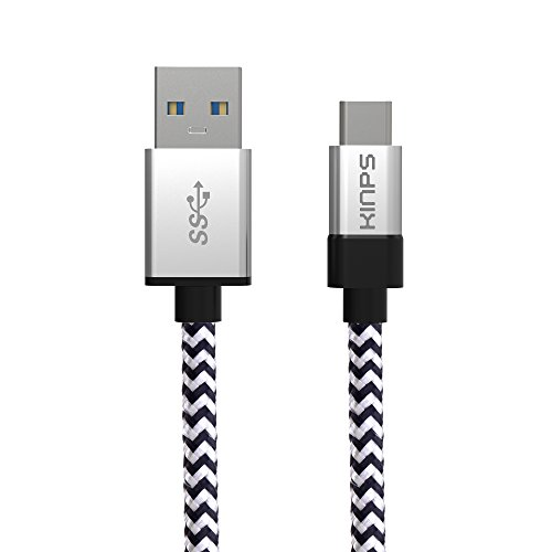 4in1 USB 3.1 Tipo C Cavo Auto Caricabatteria Adattatore Per HTC u11 Nero