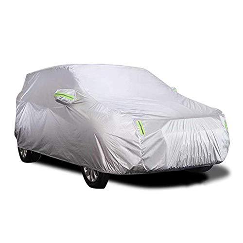 Jinclonder SUV 190T Paraplu stof autokleding autohoes waterdicht zonwering vlambescherming zonwering stofdicht, zonwering en warmte-isolatie