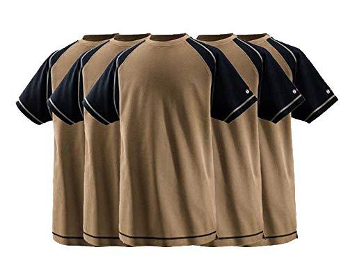 BOSCH WORKWEAR WTSI05 5er Pack T-Shirt Herren Beige M
