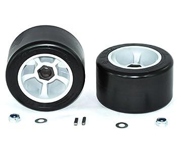 AlveyTech Super Slider POM Rear Tires for The Razor Ground Force Drifter  Set of 2