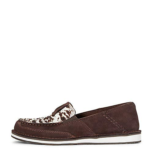 ARIAT Cruiser Brown Bomber/Watercolor Feather 8 B (M)