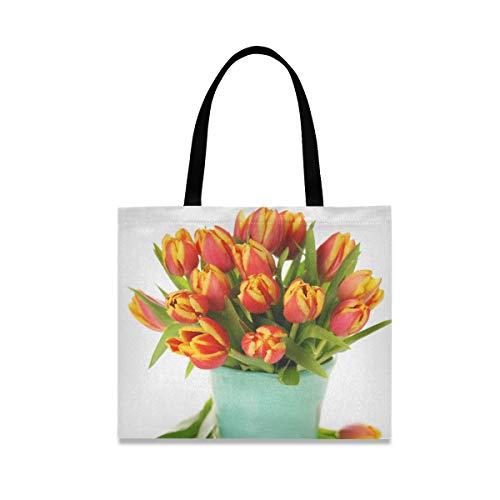 XiangHeFu Schöner Strauß Tulpen In...