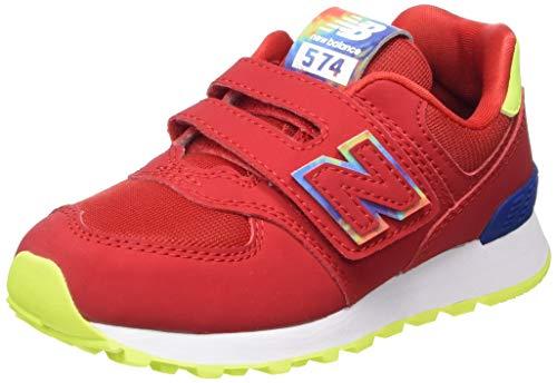 New Balance 574v2, Baskets garçon, Rouge (Red TDR), 37 EU