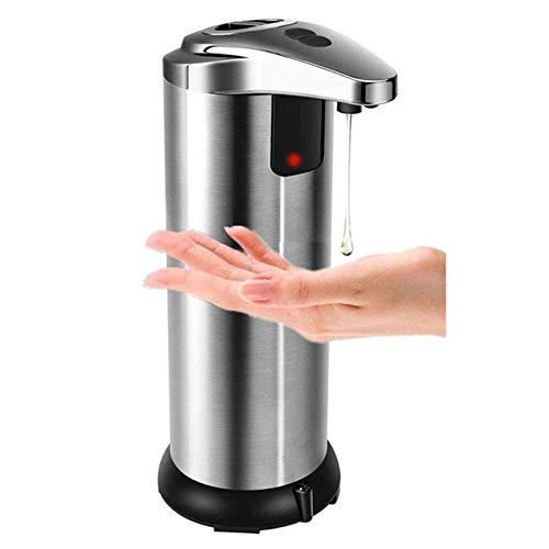 Hancoc Acero Inoxidable Sensor Doble Interruptor Detecta Automáticamente El Dispensador De Jabón Máquina Jabón Desinfectante De Manos Dispensador De Jabón