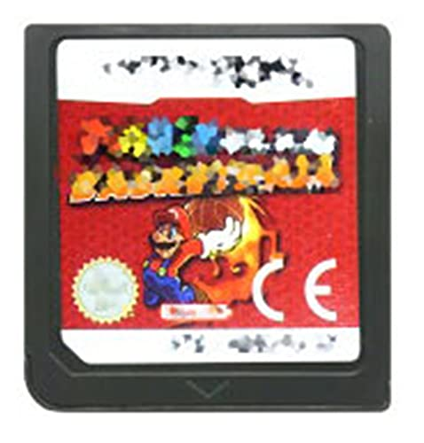 TYLJ MYBHD DS Cassette del Juego con la Tarjeta de Consola Mari Old Series para Nintendo DS 3DS 2DS (Color : Slam Basketball EUR)