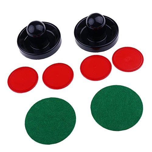 Gazechimp Air Hockey Set mit 2 Pushern und 4 Pucks Airhockey Tisch Spiel - Dunkelblau, M