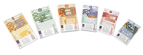 Learning Resources LSP1800-EUR Note Euro Eurogeld-Packung (Set mit 60 Banknoten)