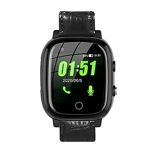 FVIWSJ Reloj Inteligente,rastreador Actividad GPS Incorporado para Mujeres y Hombres,rastreador Ejercicios para Personas Mayores,podómetro Impermeable IP67 para Android iOS