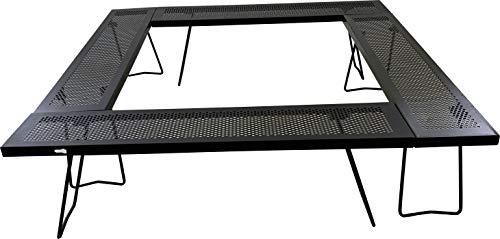 尾上製作所 マルチファイアテーブルII ブラック 中