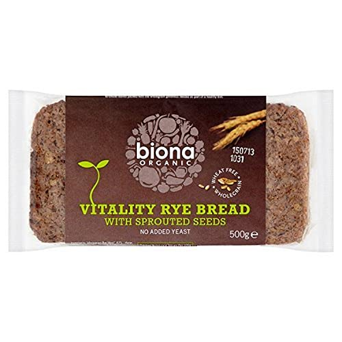 Biona Organic - Vitality Rye bread with Sprouted Seeds - 500g