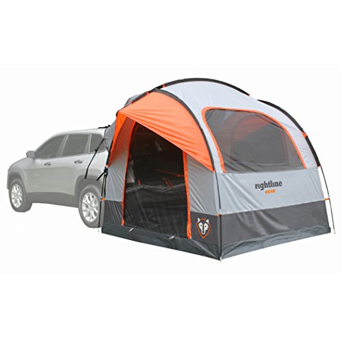 Rightline Gear-110907 SUV Tent, Sleeps Up to 6, Universal Fit, Orange.