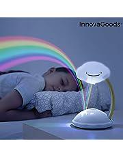 InnovaGoods Regenboog Libow LED Projector, Wit