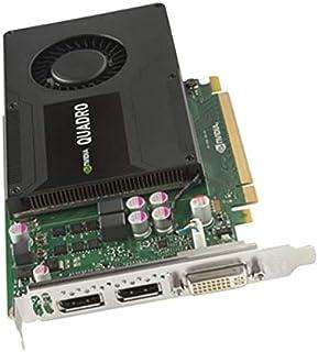 nVidia - Tarjeta Quadro K2000 700103-001 713380-001 Dual DisplayPort DVI-I Pci-e (2 GB)